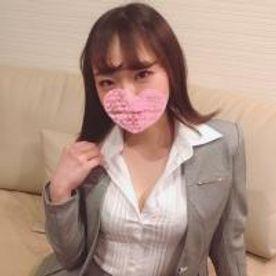 タイトなスーツ姿❤️美尻❤️ 美乳❤️スタイル抜群のbody❤️ 憧れのあもえ女上司との 生中出し 面接しちゃいました〜!!