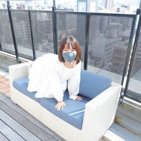 ありさちゃん!ごっくんエッチ、屋上で見られないかドキドキの中でフェラ抜きまでさせちゃいました!