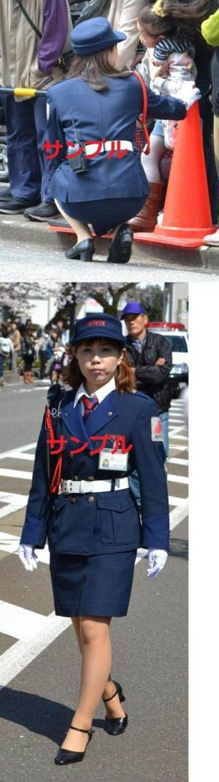 婦警 女性警察官 夏服