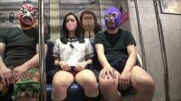 2両編成!暴走特急??オジサントレイン出発進行???? 乗客は魅惑のJ〇?? 目的地のオマンコ駅までレッツゴー!